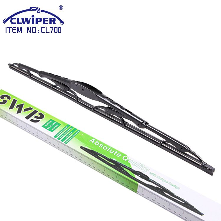 1.2mm thickness frame bone windshield wiper blade silicone with coating film(CL700)